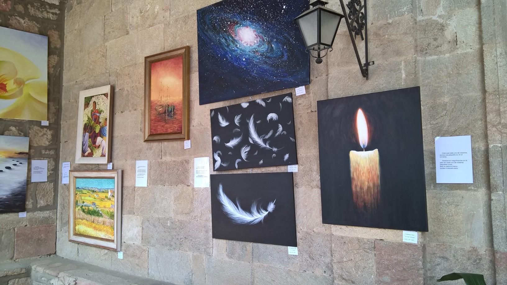 Exposición de pintura por Marta Izquierdo y Magdalena Prieto