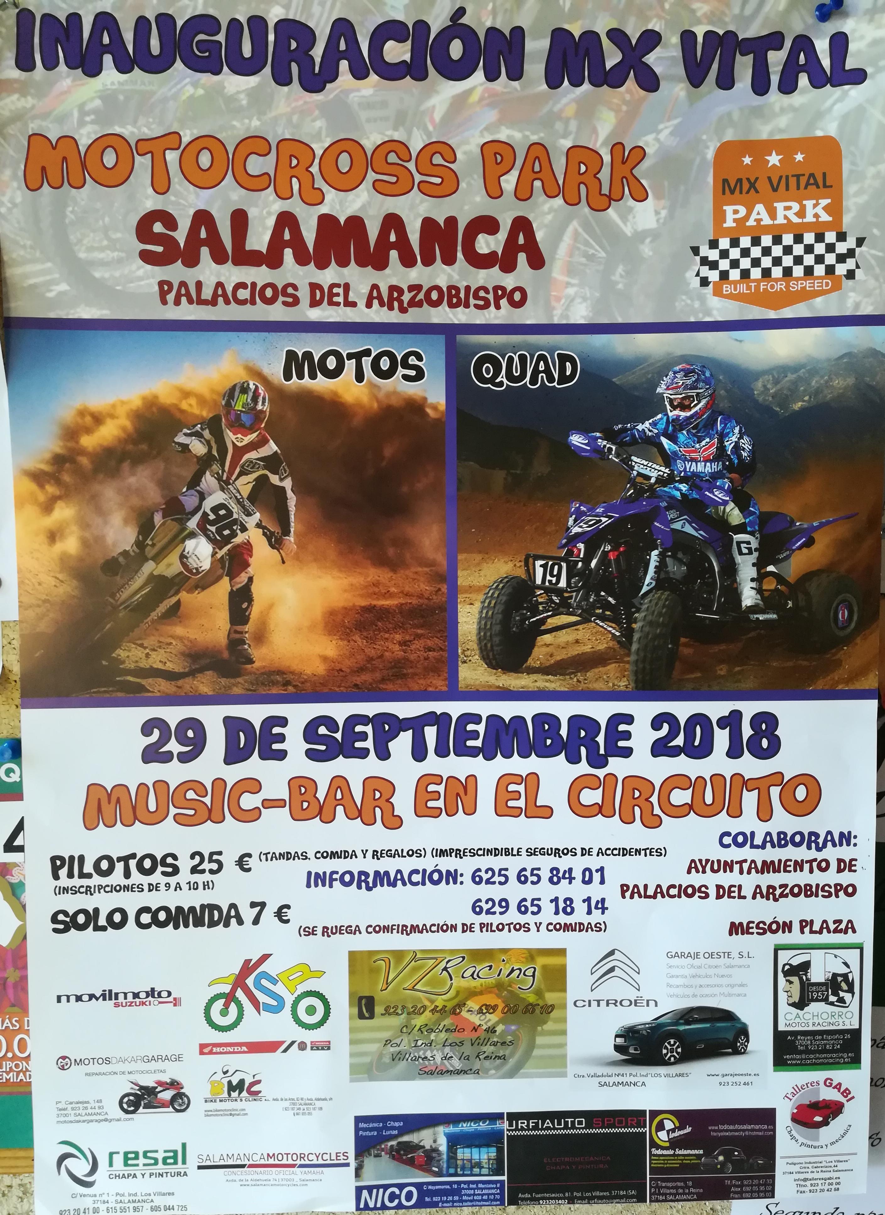 Inaguración MX VITAL en el Circuito de Motocross