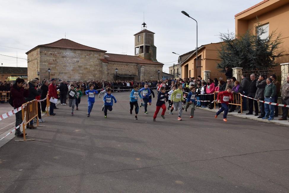 La San Silvestre Ribera del Cañedo convierte a Valdelosa en la capital de la comarca
